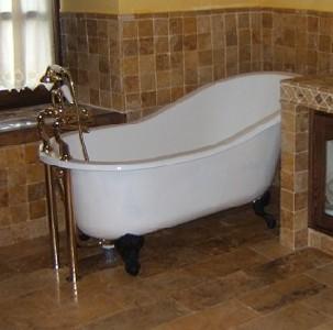 Hotel palacio de caranceja ba eras de patas y decoraci n for Baneras antiguas con patas baratas