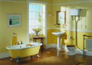 Baños clásicos. Piezas de baño