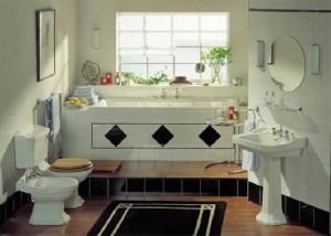 Baños clásicos. Serie de porcelana Granley